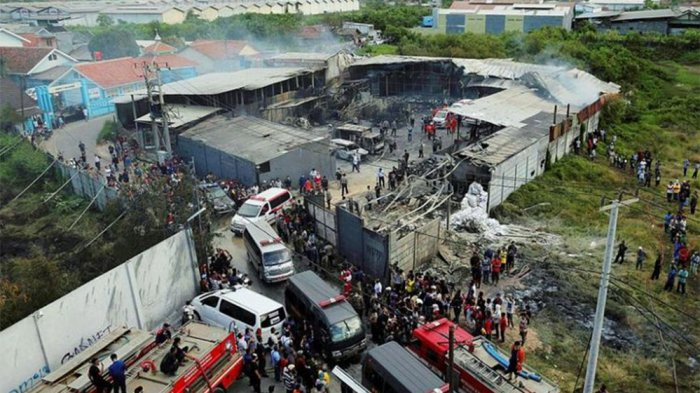 TERUNGKAP, Ini Penyebab Kebakaran Pabrik Mercon yang Tewaskan 48 Orang
