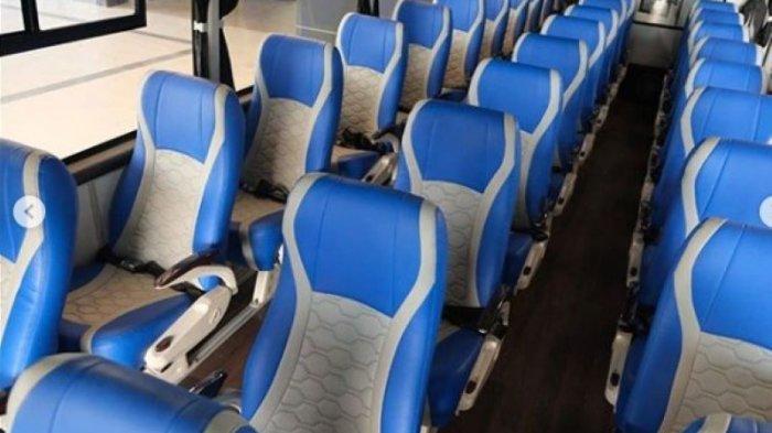 Laksana Karoseri Luncurkan Bus Legacy SR2, Desain Baru untuk Social Distancing