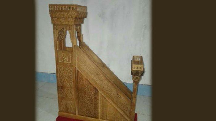 Lelang Replika Mimbar Shalahuddin Al Ayyubi Tandai Terbentuknya KNRP Jateng