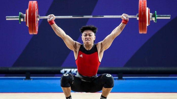 Kabar Gembira dari Angkat Besi Olimpiade 2021, Rahmat Erwin Abdullah Dapat Poin Tertinggi