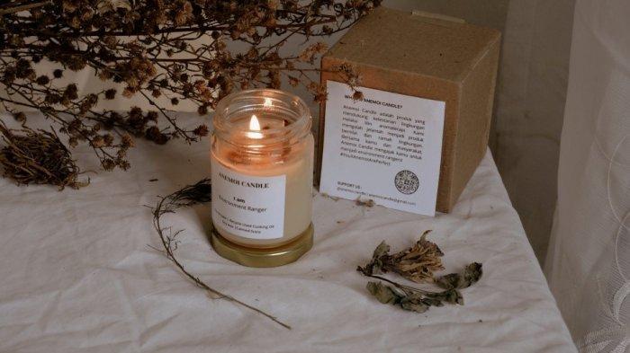 Anemoi Candle Lilin Aromaterapi Buatan Mahasiswa Unsoed Purwokerto