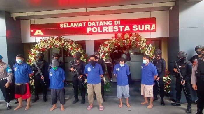 Kelanjutan Kasus Penyerangan di Solo, Gelar Razia Besar-besaran Dibackup Brimob PoldaJateng