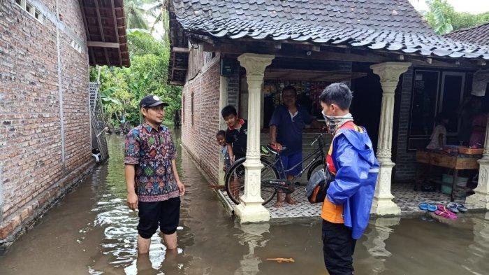 Beberapa Wilayah di Kendal Banjir Karena Sedimentasi Sungai dan Curah Hujan Tinggi