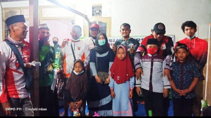 Linkomnas Santuni 40 Anak Yatim, Jadi Rutinitas Dua Minggu Sekali