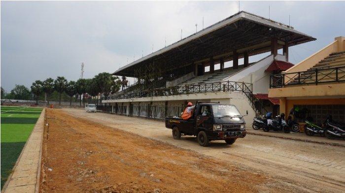 Stadion Joyokusumo Pati Segera Punya Lintasan Atletik Berstandar Internasional