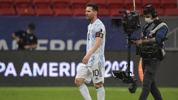 Ada Pemain Langgar Prokes, Laga Brasil vs Argentina Dihentikan, Lionel Messi: Memalukan