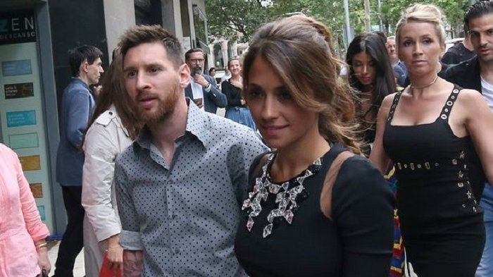 Kado Pernikahan Lionel Messi dan Antonella Roccuzzo Kali Ini Terasa Pahit