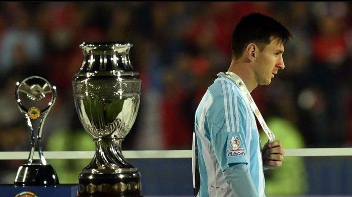 Copa America 2021: Empat Kali Gagal di Final Bersama Argentina, Akankah Messi Pensiun Lagi?
