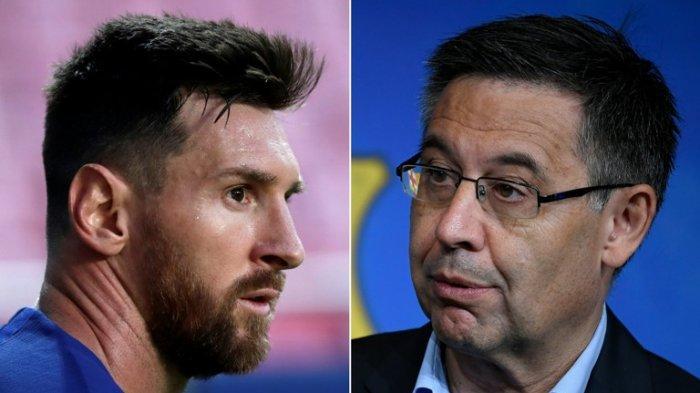 Lionel Messi Seret Mantan Presiden Barcelona Josep 'Nobita' Bartomeu ke Pengadilan