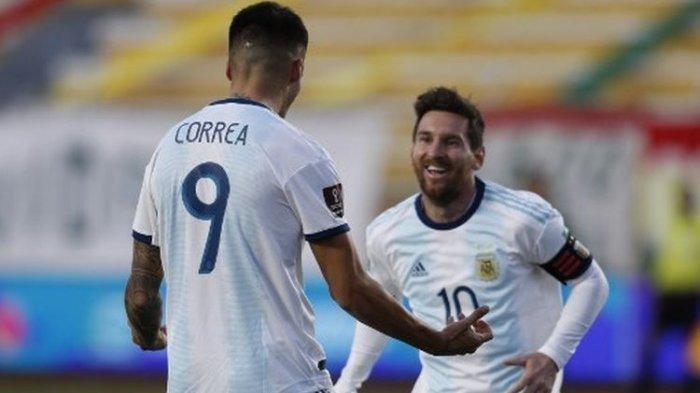Hasil Kualifikasi Piala Dunia 2022 Tadi Malam Bolivia Vs Argentina, Messi dkk Petik 3 Poin
