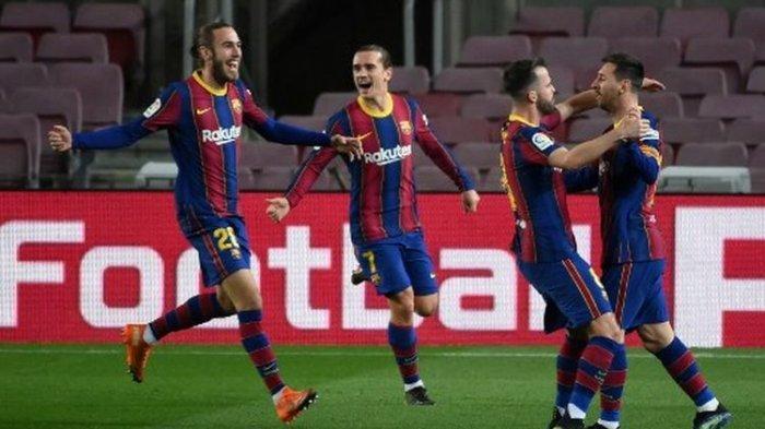 Jadwal Bola, Klasemen, Top Skor dan Live Streaming La Liga Spanyol Malam Ini Barcelona Vs Atletico