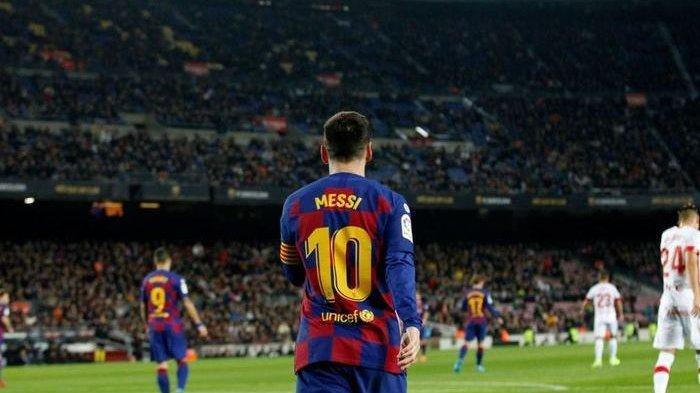 Striker Cadangan Barcelona Ingin Rebut Nomor Punggung 10 Lionel Messi, Apa Mampu?