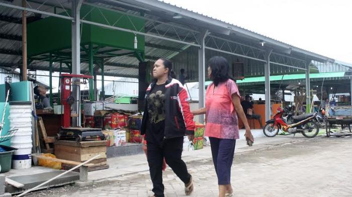 Listrik di Tempat Relokasi Pasar Johar Byarpet