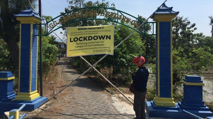 78 Orang Terpapar Corona, Satu RT di Karangsari Kendal Lockdown