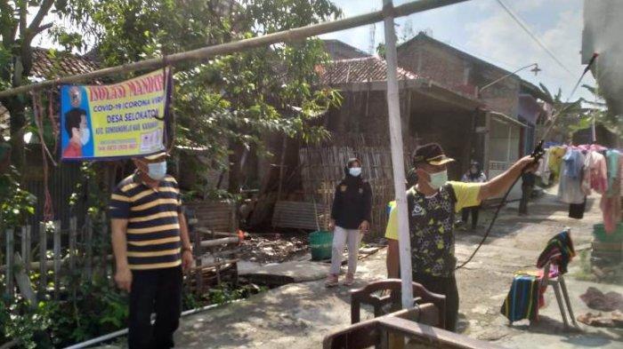 29 Warga Positif Corona, Satu Gang Kampung di Selokaton Gondangrejo Karanganyar Ditutup
