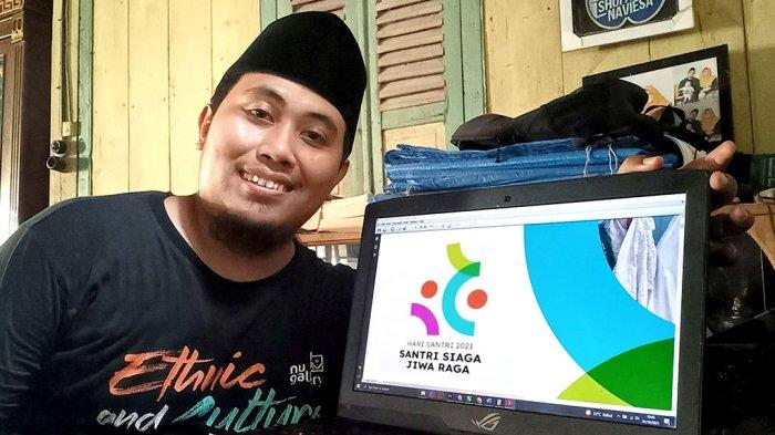 Sosok M Shofa Ulul Azmi Pencipta Logo Hari Santri Nasional 2021, Dapat Ide Saat Salat Isya