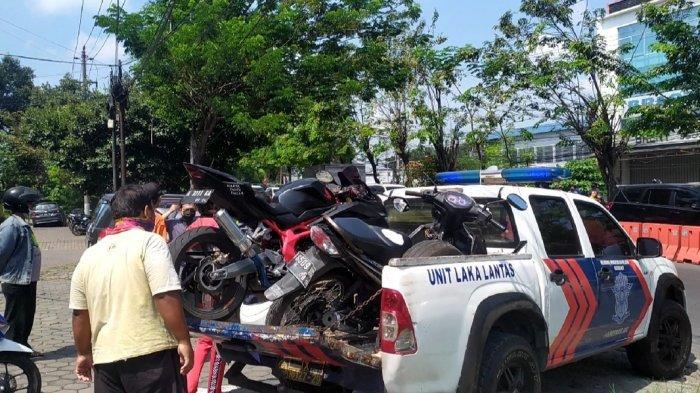 Emak-emak Motor Matik Potong Jalur Sebelum Kecelakaan Maut CBR 250 di BKT Semarang, Pergi Tanpa Dosa