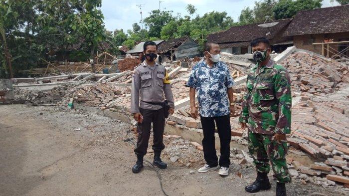 Innalillahi Wa Innailaihi Rojiun, Agus Tukang Bangunan Meninggal Tertimpa Tembok Roboh di Pati