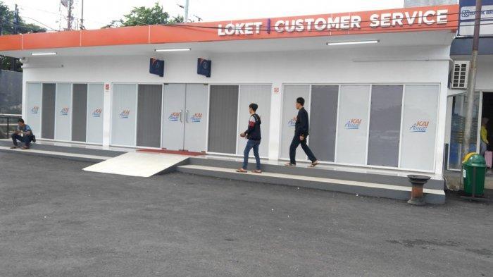 Loket Tiket KA di Stasiun Poncol Semarang Dipindah, Krisbiyantoro: Biar Tidak Berjubel