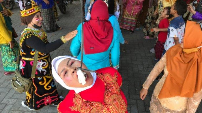 Pedagang Pasar Purwoyoso Semarang Gelar Perlombaan, Dwi: Kami Rindu Acara Pitulasan