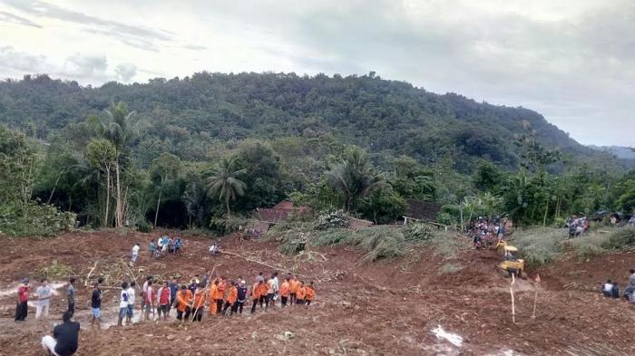 Korban Longsor di Purworejo: 24 Orang Meninggal dan 20 Orang Masih dalam Pencarian