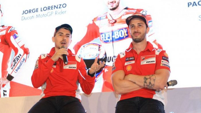 Terungkap Alasan Andrea Dovizioso Tak Suka Jorge Lorenzo Rekan Setimnya di Ducati