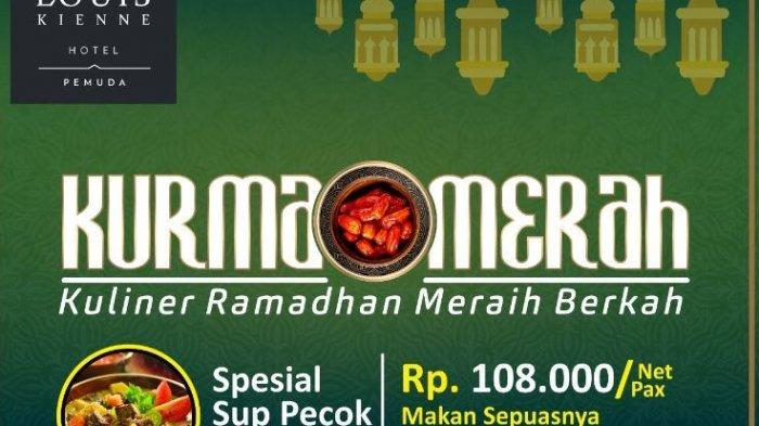 Louis Kienne Hotel Pemuda Semarang Tawarkan Promo Bukber Kurma Merah dengan Harga Rp 108 Ribu