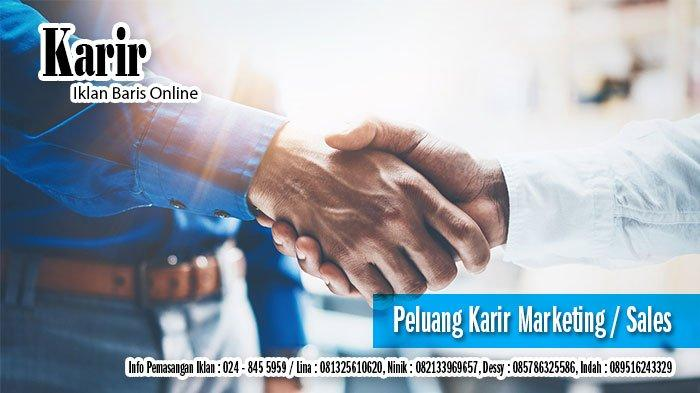 Loker Lowongan Kerja Terbaru Di Semarang Senin 1 Maret 2021 Halaman All Tribun Jateng