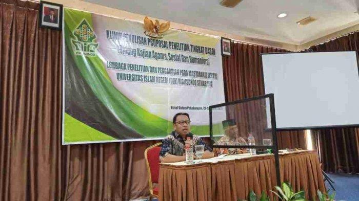 LP2M UIN Walisongo Semarang Gelar Klinik Penulisan Proposal bagi Dosen Muda