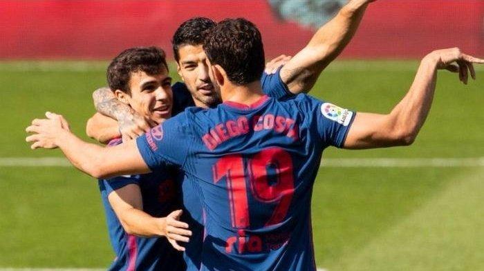 Klasemen Bola La Liga Spanyol Atletico Kembali Rebut Posisi Puncak dari Real Madrid