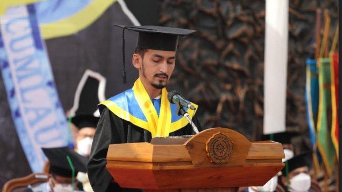 Masuk Lewat Jalur Beasiswa, Mahasiswa Turki di UMP Senang Akhirnya Diwisuda