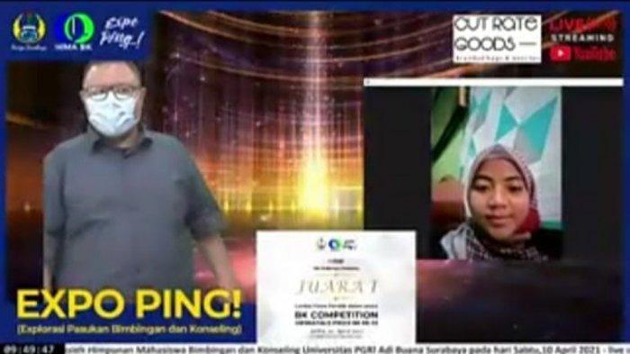 Kenalkan Cyber Counseling, Mahasiswa BPI UIN Walisongo Semarang Juara 1 BK Competition