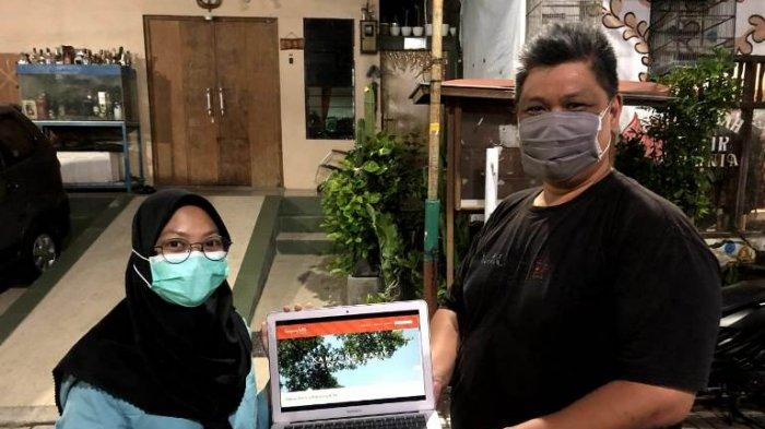 Pulihkan Ekonomi saat Pandemi, Mahasiswa KKN UNS Bantu Warga Kampung Batik Semarang Bikin Website