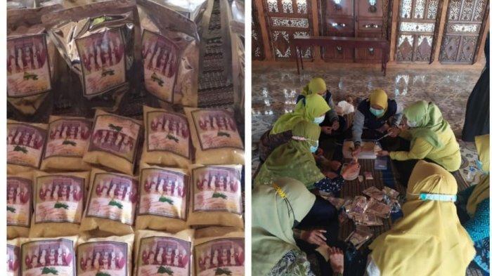 Tim KKN Universitas Ivet Semarang Desa Jinggotan Kembang Jepara Hasilkan Jahe Instan