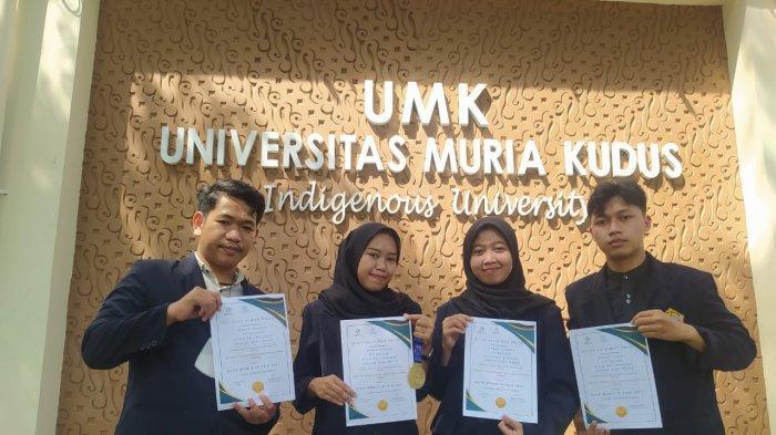 Empat Mahasiswa UMK Raih Medali Emas Bikin Website Pembelajaran Local Wisdom