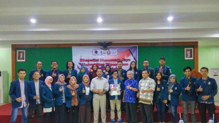 Undip Melepas Keberangkatan 25 Mahasiswanya IkutProgram Ekspedisi Nusantara Jaya