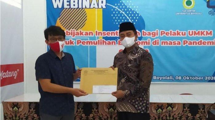 Mahasiswa Fak Ekonomi Universitas Boyolali Terima Piagam Penghargaan dari DJP Jawa Tengah II