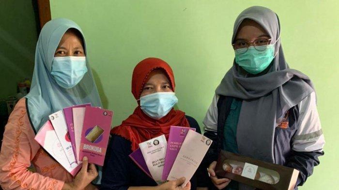 Buah Naga Diolah Jadi Donat Kreasi Mahasiswa KKN Undip Semarang