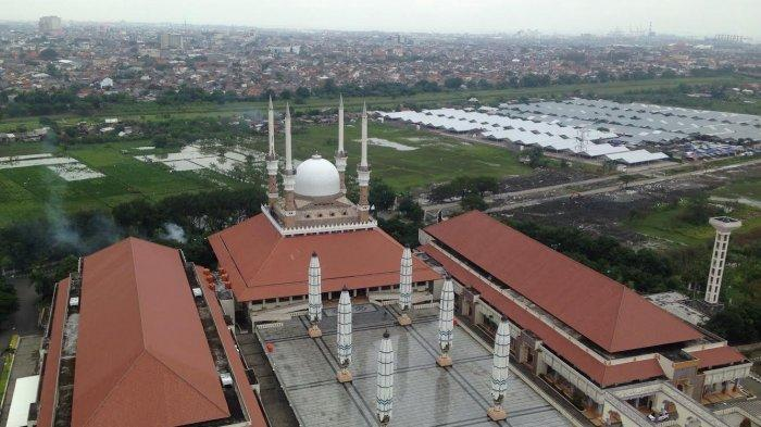 Semarang Zona Merah, Masjid Agung Jawa Tengah Tetap Selenggarakan Ibadah, Wisata Religi Juga Dibuka