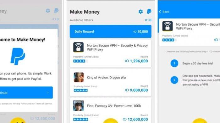 Aplikasi Make Money