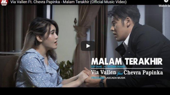 Chord Kunci Gitar Malam Terakhir Via Vallen ft Cevra Papinka