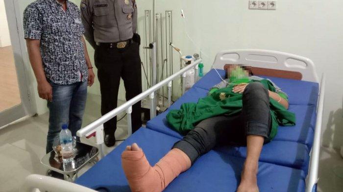 Maling Perempuan Nekat Loncat dari Lantai 2 Pasar Purbalingga, Tulang Kaki Retak Pas Mendarat