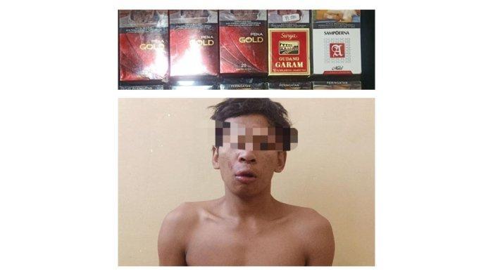 Agus Riyanto Babak Belur, Maling Rokok Kambuhan di Sragen