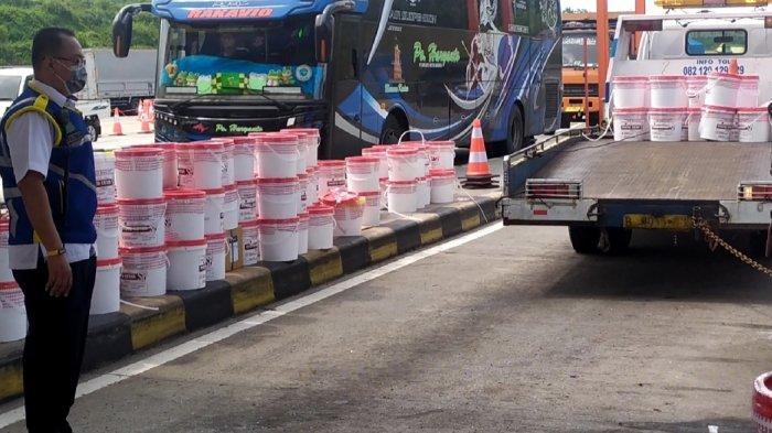 Bus Haryanto Hantam Tronton di Gerbang Tol Kalikangkung, Sopir Sempat Curhat Soal Rem