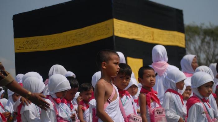 Ribuan Anak RA di Brebes Besok 'Berangkat' Haji