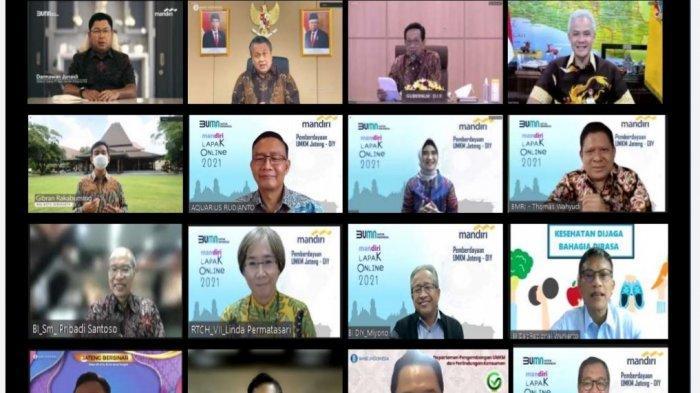 Mandiri Lapak Online 2021 Berdayakan UMKM Jawa Tengah dan Daerah Istimewa Yogyakarta