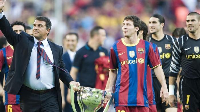 Pernyataan Mengejutkan Laporta Soal Kepergian Messi: Saya Harap Dia Main Secara Gratis di Barcelona