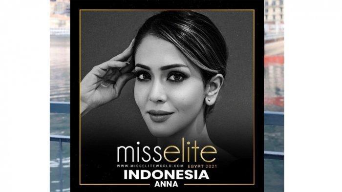 Mantan Putri Solo 2012 Anna Silvia yang merupakan pramugari Emirates Airline yang menjadi peserta grand final Kontes Miss Elite World yang digelar di Mesir pada 29 Mei 2021 mendatang. (4)