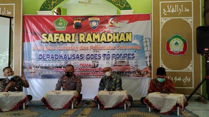 Mantan Teroris Isi Dakwah Ramadan Pondok Pesantren Darul Falah Be-Songo Semarang