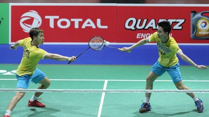 Line Up Indonesia vs Taiwan di Piala Thomas, Tidak Ada Nama Marcus/Kevin, Ahsan Dapat Pasangan Baru